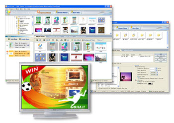 Photo DVD Slide Show Software, Make DVD Slide Show from Photo, MP3 music, make photo vcd