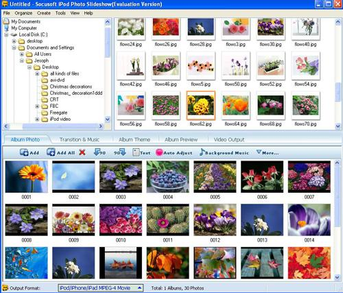 Socusoft iPod Photo Slideshow 8.00