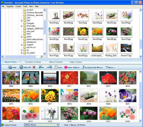 Photo to Video Converter Free Version 8.00