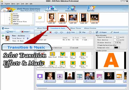 transition music dvd burner software free ware