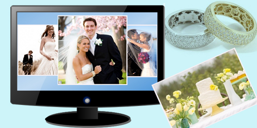 create wedding photo slideshow