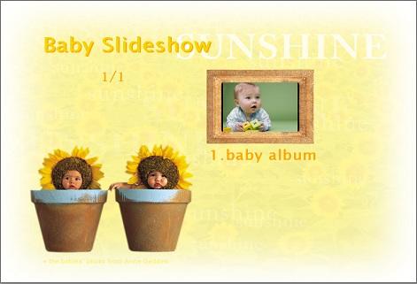 Baby shower slideshow ideas