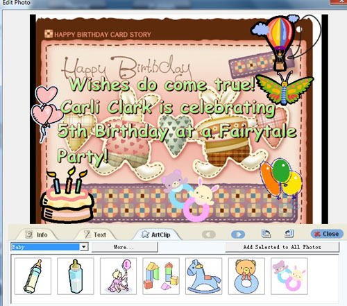 make funny birthday musical greeting e postcards and send by email, Birthday card