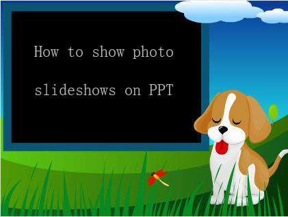 Click on the pictures or button for DVD Photo Slideshow Flash demo