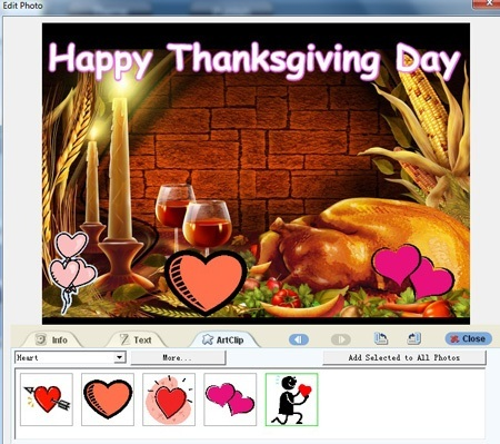 Tutorialmake animated flash greeting carddownload best ecard maker thanksgiving card design m4hsunfo