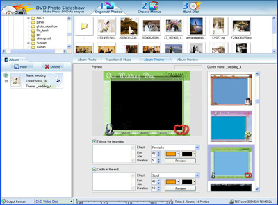 Ideas How To Create A Playable Hd Wedding Photo Gallery Dvd Cd